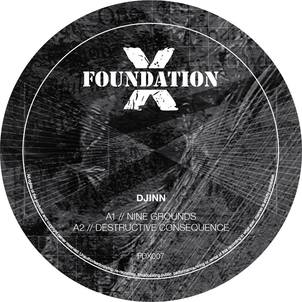 Djinn - Dark Reference EP : Foundation X (jungle / dnb / drum and bass)