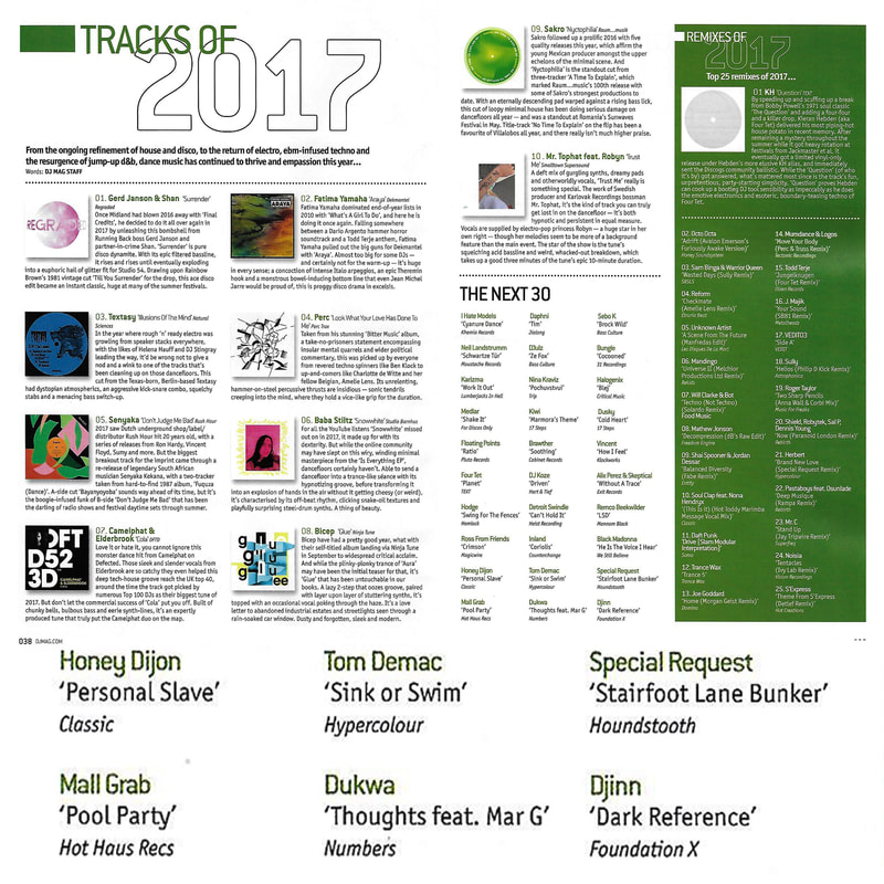 DJ Mag // Tracks of 2017