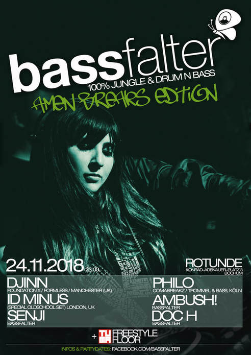 Djinn @ Bassfalter, Bochum, Germany 24th NOV 18