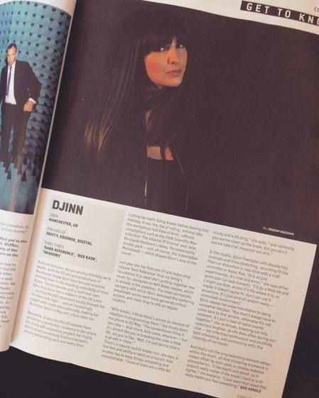 DJ MAG - Djinn // Get to Know (Manchester jungle /  drum & bass / dnb DJ & Producer)